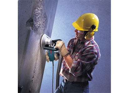 Model: 5 In. Concrete Surfacing Grinder with Dedicated Dust Collection Shroud