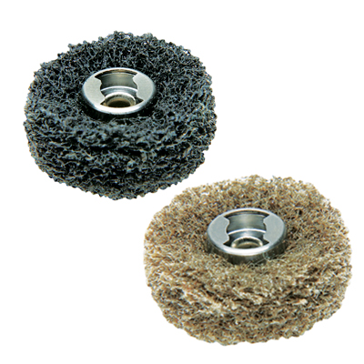 511E EZ Lock Finishing Abrasive Buffs - 180 & 280 grit (2 Pack)
