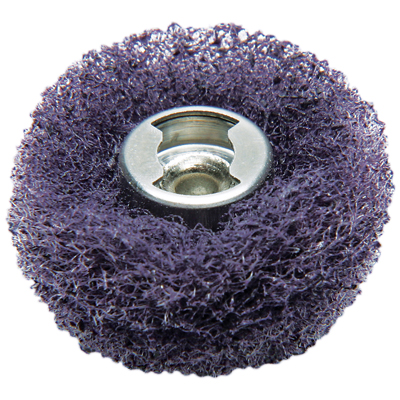512E EZ Lock Finishing Abrasive Buffs 320 Grit (2 Pack)