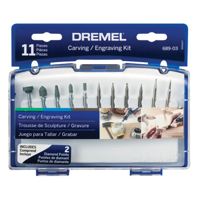 689-01 Carving/Engraving Mini Accessory Kit