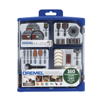 710-08 160 PC All-Purpose Accessory Kit