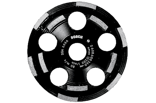 Bosch 5 In. Segmented Diamond Cup Wheel DC520