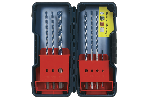 Bosch BlueGranite Turbo Carbide Bit Set HCBG700T