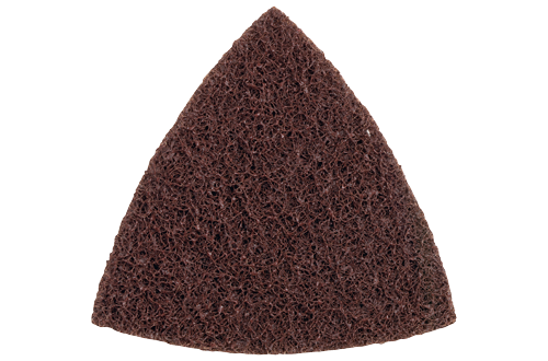 Bosch Coarse Triangle Finishing Pad CS101, Surface Conditioning Abrasive Triangle Pad