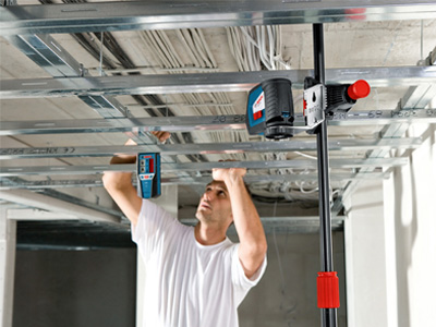 Bosch Self-Leveling Cross-Line Laser GLL2-50 and LR2 (EN)