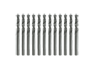 Fractional Stubby Length Black Oxide Drill Bits (Bulk)