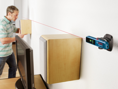 Bosch Line and Point LaserGLL 1P Speaker Alignment (EN)