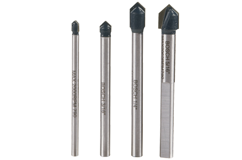 Bosch Glass and Tile Bit Set