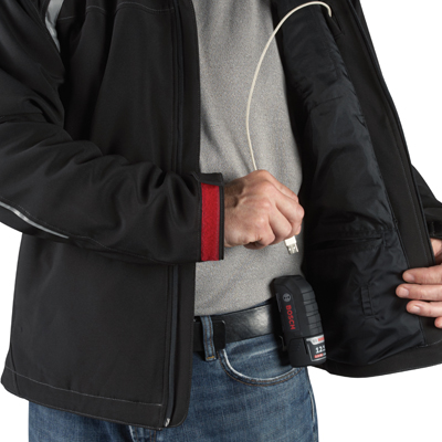 Heated Jacket Application Images