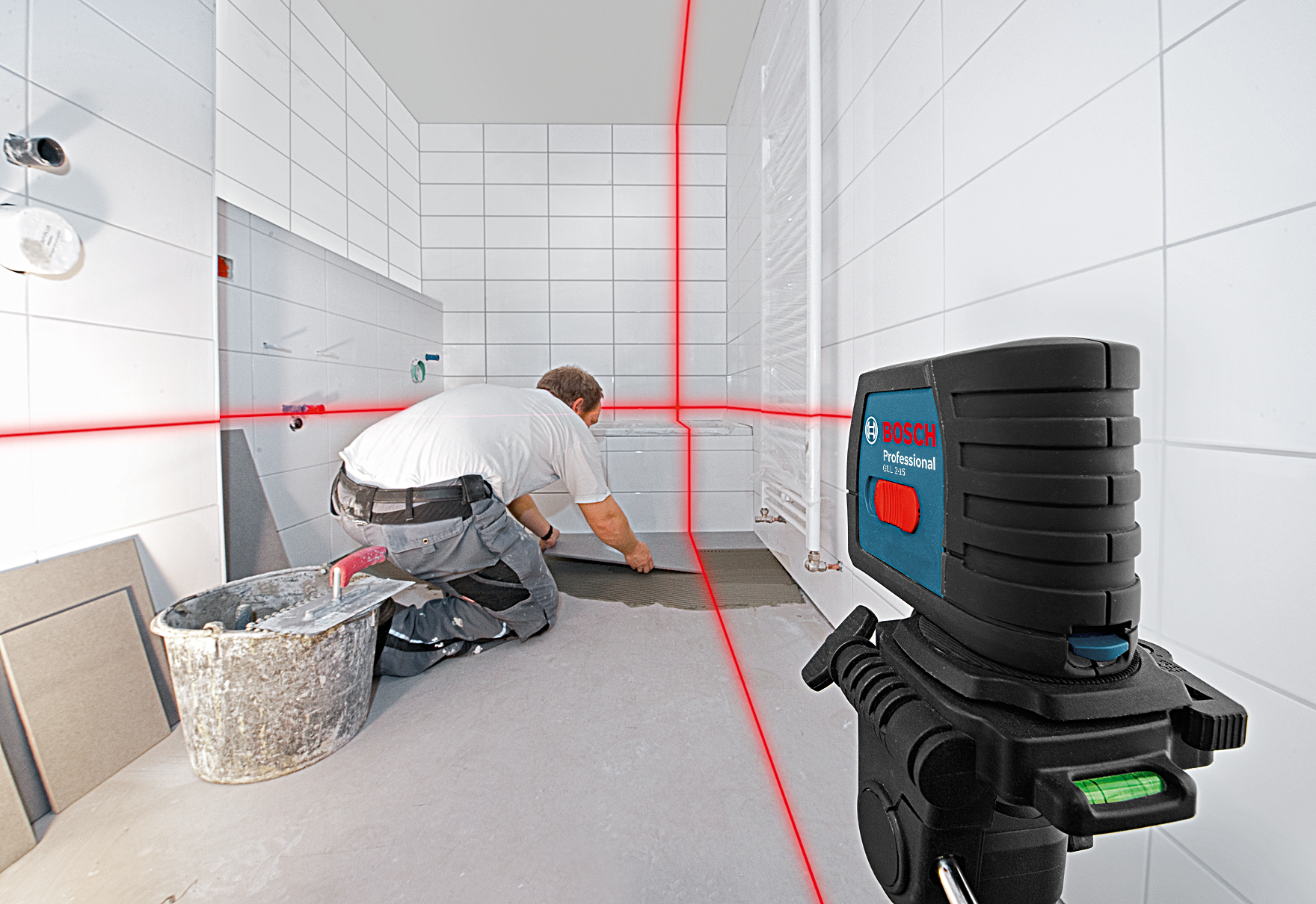 Bosch Laser Level GLL 2-15 Tiling