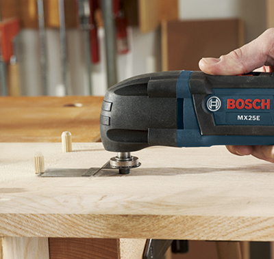 Bosch Oscillating Multi-Tool Kit MX25EC-21, MX25EK-33