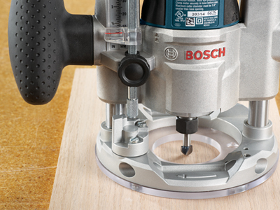 Bosch Plunge Base for Palm Router PR011, PR20EVSPK (EN)