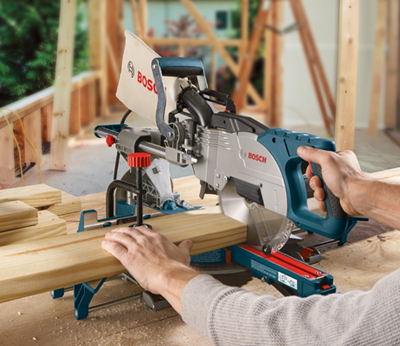 Bosch Sliding Compound Miter Saw CM8S Application 2
