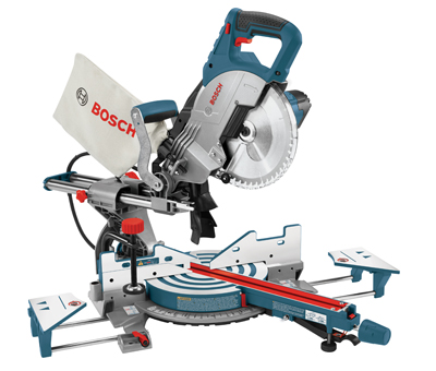 Bosch Sliding Compound Miter Saw CM8S Side Supports