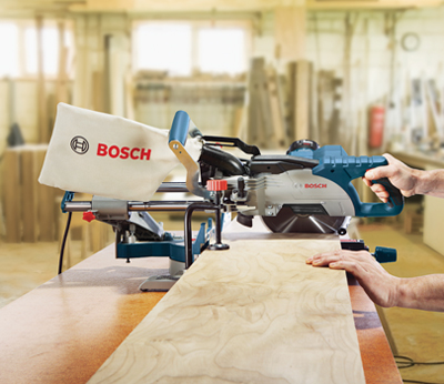 Bosch Sliding Compound Miter Saw CM8S Woodshop