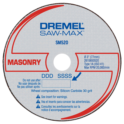 Dremel Cut-Off Wheel SM520C