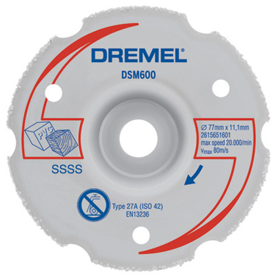 DSM600-RW Flush Cut Carbide Wheel