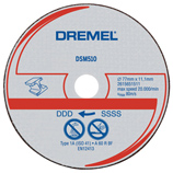 http://mdm.boschwebservices.com/files/Dremel Metal Cut-off Wheel DSM510C-RW (AU, EN, ES) r38640v15.jpg