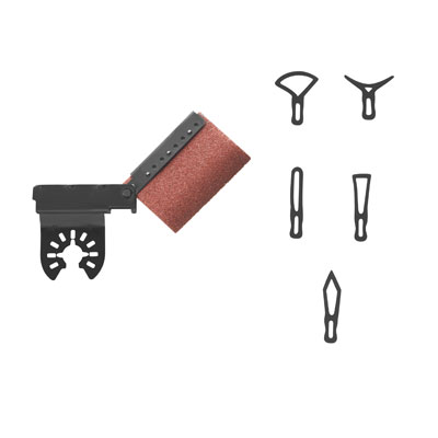 Dremel Multi-Max Contour Sander Accessory MM730 Contour Set
