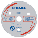 http://mdm.boschwebservices.com/files/Dremel Multi-Purpose Carbide Wheel DSM500-RW (AU, EN, ES) r38639v15.jpg