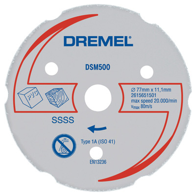 http://mdm.boschwebservices.com/files/Dremel Multi-Purpose Carbide Wheel DSM500-RW (AU, EN, ES) r38639v16.jpg