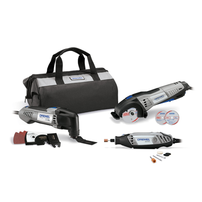 Dremel Three Tool Kit CKDR 02 3Pk