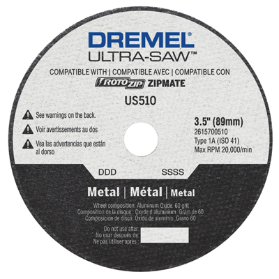 Dremel US510 Metal Cutting Wheel