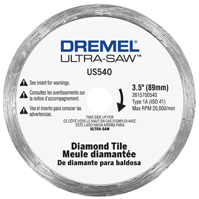 Dremel US540 Diamond Tile Wheel