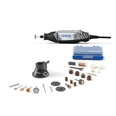 Dremel Variable Speed Rotary Tool Kit 3000-1_25H