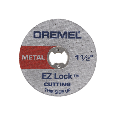 "EZ456 EZ Lock™ 1-1/2"" Cut-off Wheels (5 Pack)"