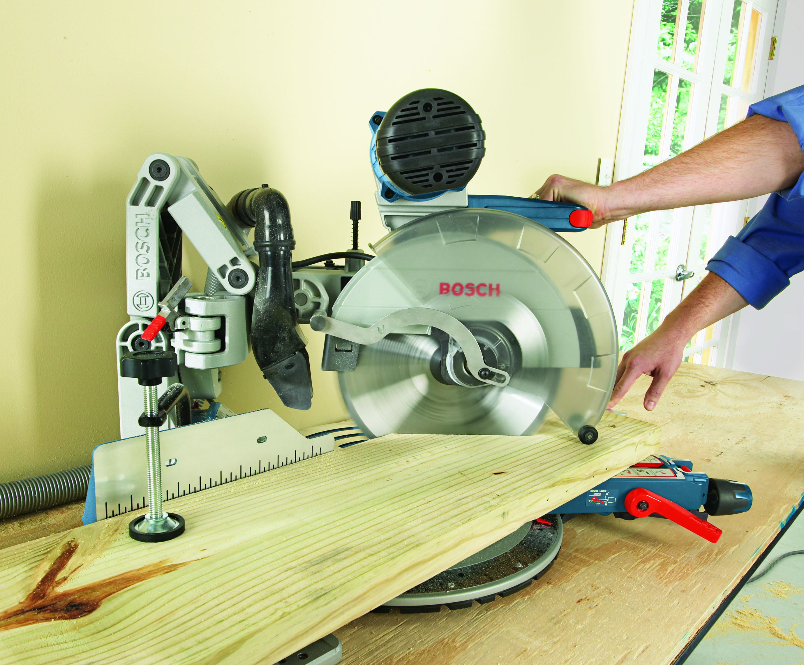 how to cut miter for 105