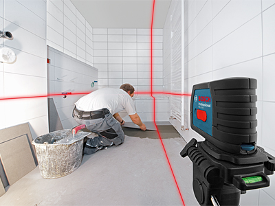 Model: Self-Leveling Cross-Line Laser_GLL 2-15_Tiling