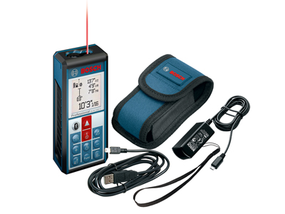 Model: Laser Measure with Bluetooth Wireless Technology_GLM 100 C with accessories