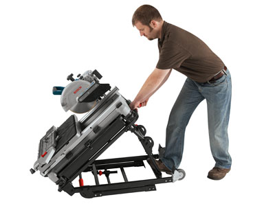 Model: Wheeled Tile Saw Stand