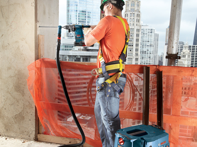 Model: High Rise_Concrete Drilling Left Wall with Vac