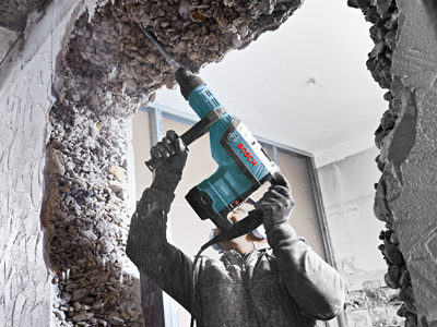 Model: 1-3/4 In. SDS-max® Rotary Hammer_RH745_Overhead_App 1