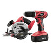 Skil 18v Drill_Driver Circular Saw Kit 2860-10