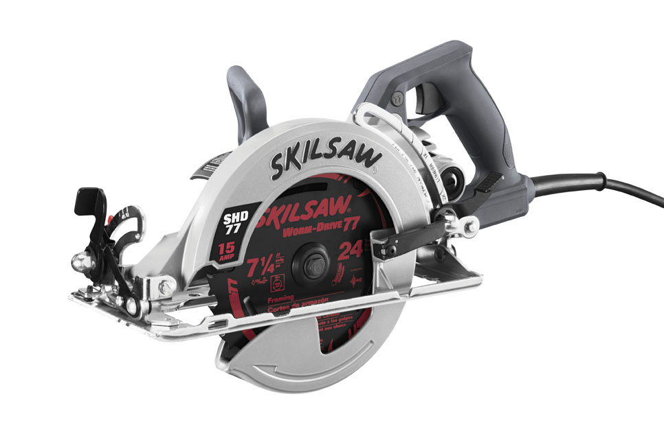 SHD77-73 | 7-1/4 In. Worm Drive SKILSAW® with Twist Lock Plug