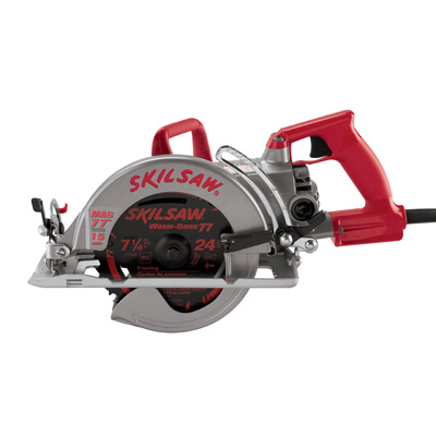 "7-1/4"" Magnesium Worm Drive SKILSAW"