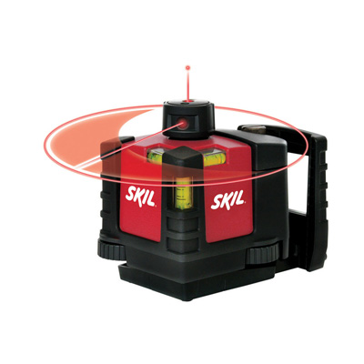 Manual-Leveling Rotary Laser