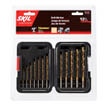 12 pc titanium drill bit set