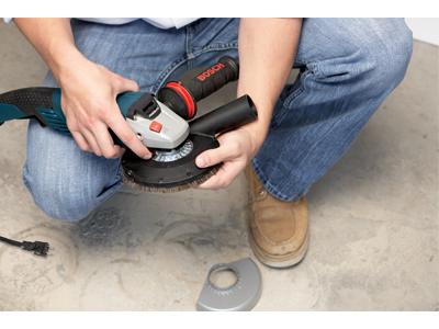 Model: Small Angle Grinder Concrete Surfacing Attachment 18SG-5E