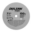 7-1/4&quot; Diameter Steel Blade;150T; Application: Fine Finishing
