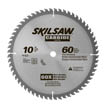 "10"" Diameter Carbide Blade; 60T; Application: Cross / Finish Cuts; Optimized for Table Saw"
