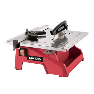 "7"" Wet Tile Saw"