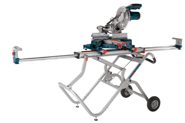 T4b Gravity Rise Wheeled Miter Saw Stand Bosch Power Tools