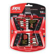 14 pc gold oxide drill bit set