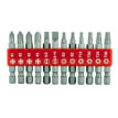 12 pc 2&quot; driver bit set