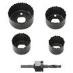 5 pc hole saw set